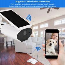 TELECAMERA IP SOLARE ESTERNO HD 1080P WIFI WIRELESS IR MOTORIZZATA IMPERMEABILE