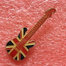 Pins Musique GUITARE GIBSON STRATOCASTER FLAG U.K. UNION JACK Guitar INSTRUMENT