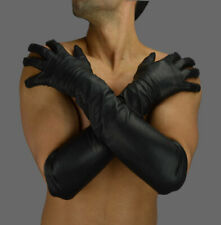 AWANSTAR Echt Leder handschuhe Opera Lange Lederhandschuhe,Leather Long Gloves