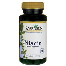 Swanson Niacin 100 mg 250 Tabs