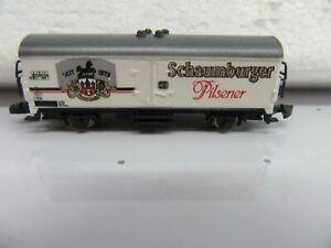"""Z - Marklin 8600.1987.05  - Beer Car """"Schaumburger Pilsener"""""""