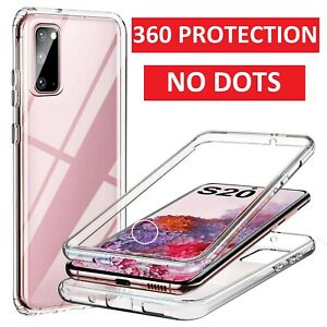 For Samsung Galaxy S9 S10 S20 S21 Plus S20 FE Case Cover Clear Screen Protector