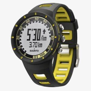 NEW Suunto Quest HRM Training Digital Watch- Yellow DISCONTINUED