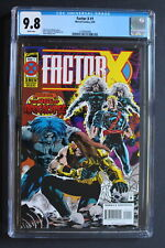 FACTOR X #1 1st BEDLAM of Deadpool-2 Movie 1995 AGE of APOCALYPSE CGC NM/MT 9.8
