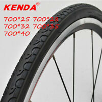 Clincher Slick Tread Tyre 700*25/28/32/35/40 85PSI Bicycle Tires Road Bike Tyre