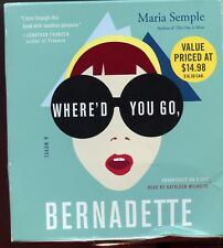 Maria Semple / Where'd You Go Bernadette - 9CD Audiobook