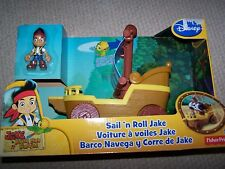 Disney's Jake Pirate Ship and Figure from Fisher Price