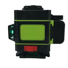 4D Laser Level Green Light 16 Lines Auto Self Leveling 360° Rotary Measure Cross
