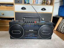 Vintage PHILIPS D8072/05 Radio Cassette Boombox Ghettoblaster
