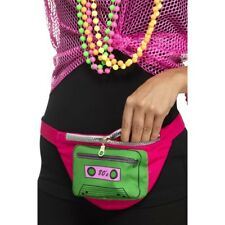 1980s Bumbag Ladies Punk Rocker 80s Fancy Dress Accessory