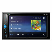 NEW Pioneer Double 2 Din AVH-210EX Audio DVD/MP3/CD Player Touchscreen Bluetooth