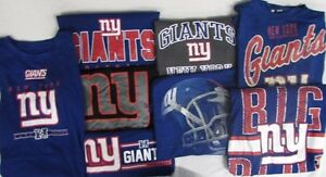 New York Giants NFL Men's *2 MYSTERY SHIRTS* - Multiple Sizes Available!