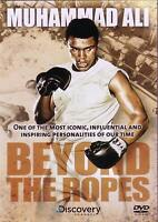 MUHAMMED ALI BOXING MATCHES BEYOND THE ROPES DVD New Sealed Original UK R2