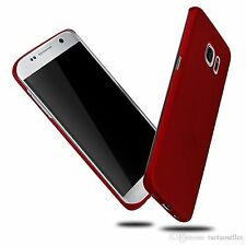 Red Ultra Slim Matte Hard Plastic Case Skin Shell For Samsung Galaxy S7 Edge
