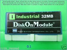 PQI 32MB Industrial Disk On Module 44PIN IDE as photo, w/ boot DOS 7, sn:0037.