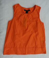 NEW Marc by Marc Jacobs Orange Taffeta Sleeveless Tunic Top, NWT