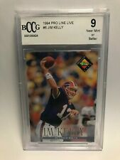 JIM KELLY Buffalo Bills 1994 Pro Line Live #6 Card