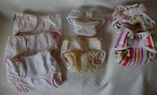 New ListingLot Of 7 Cloth Diaper Wraps Waterproof Diaper Covers small newborn 6-18 lbs