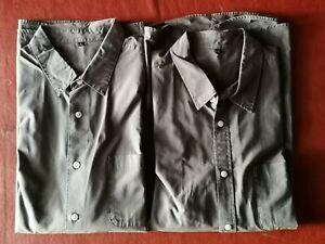 2 Grey Muji Shirts Large
