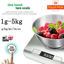 5kg Digital LCD Electronic Kitchen Cooking Food Weighing Postal Weight Scales UK