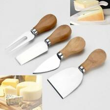 Set per formaggi coltelli da formaggio blocco di legno 4Pz
