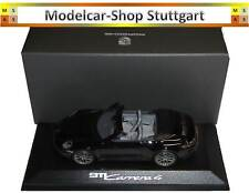 Porsche 911 Carrera 4 Cabriolet Black - minichamps 1:43 - WAP0201770K - New