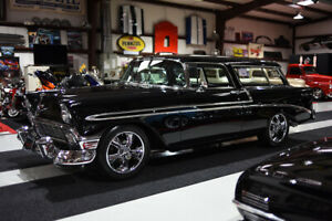 1956 Chevrolet Nomad NOMAD RESTOMOD DISC BRAKES A/C PS PB FUEL INJECTED