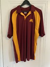 University Of Minnesota Golden Gophers Athletic Polo Stitched Logo Men's Size Xl