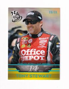 2012 Press Pass BLUE HOLOFOIL NUMBERED PARALLEL #33 Tony Stewart #15/35! SWEET!