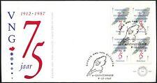 Netherlands 1987 Municiapalities Union FDC #C44222