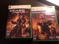 Gears of War 2 / Judgement Microsoft Xbox 360 Trilogy Set Lot Bundle