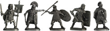 """Tin soldier, figure. A set of tin soldiers - """"Ancient Rome"""" 40-50 mm 5 figures"""