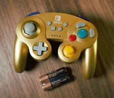 POWER A - Wireless Controller GameCube Gold for Nintendo Switch - NEW SEALED