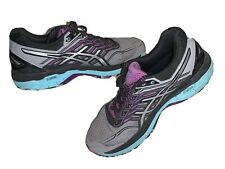 ASICS T762N Women's GT 2000 Trail V5 Running Shoes Gray Purple Womens Size 8
