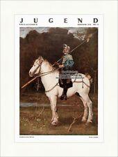 Titelseite der Nummer 13 von 1933 Fritz von Uhde Altdeutscher Reiter Jugend 4852
