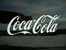 "Coca-Cola Coke Decal Sticker New Die-Cut Vinyl Coca Cola 9"" X 3"""