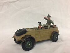 Brittains German Deetail KUBELWAGEN in Desert livery with Driver and Officer