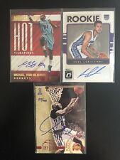 3 Card Kentucky Wildcats Autograph Lot Tony Delk Kidd Gilchrist Labissiere Auto