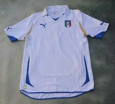 Vintage Puma Italy National Soccer Team Luca Toni #9 Jersey Size M.