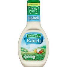 Hidden Valley Original Ranch Salad Dressing 8 oz  ( 4 Bottles )