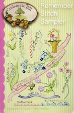 10% Off Crab-apple Hill Embroidery Pattern - Remember Stitch Sampler