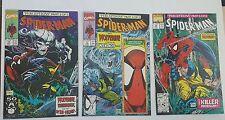 spiderman # 10,11,12, 1991 mcfarlane