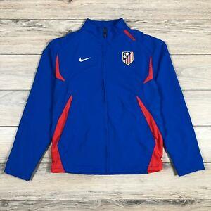 Atletico Madrid 2007 Men's Nike Track Full Zip Jacket Football Soccer size S