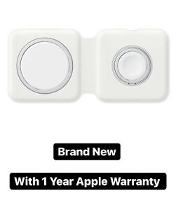 Genuine Apple MagSafe Duo Charger, 1 Year Apple Warranty - Brand New and Sealed