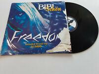 "Bibi Schön – Freedom  - Disco Mix 12"" Vinile Stampa ITALIA 1998"