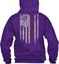 Pitbull Flag - Pit Bull Gildan Hoodie Sweatshirt