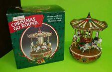 Mr Christmas Christmas Go Round Merry Go Round Carousel