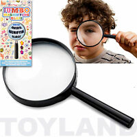 JUMBO MAGNIFYING GLASS TRADITIONAL TOY BOYS GIRLS BIRTHDAY GIFT PARTY BAG FILLER