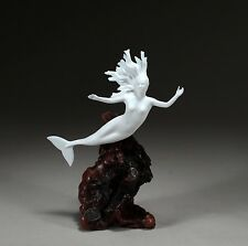 MERMAID New Direct from JOHN PERRY 9in high Sculpture Figurine Statue Art