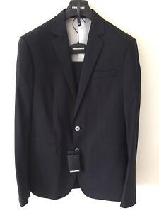 Dsquared2 Suit Paris - Black - UK 42/IT 52 - RRP £850 - New